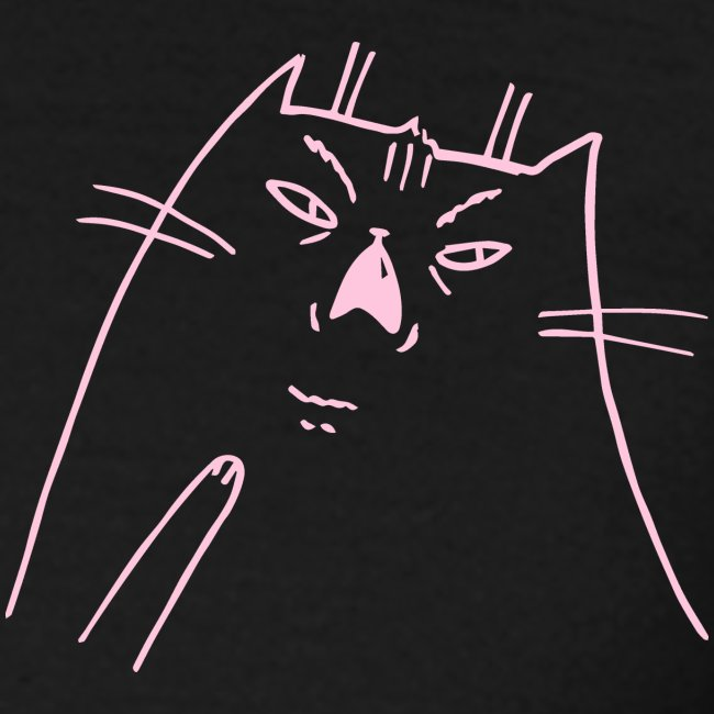Shocked Cat rosa