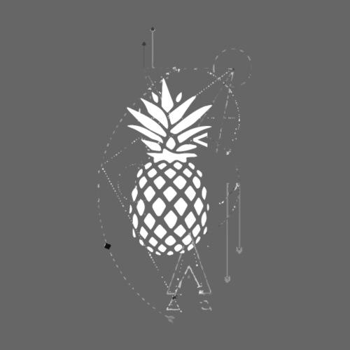 Kleiner Designer Ananas - Männer T-Shirt