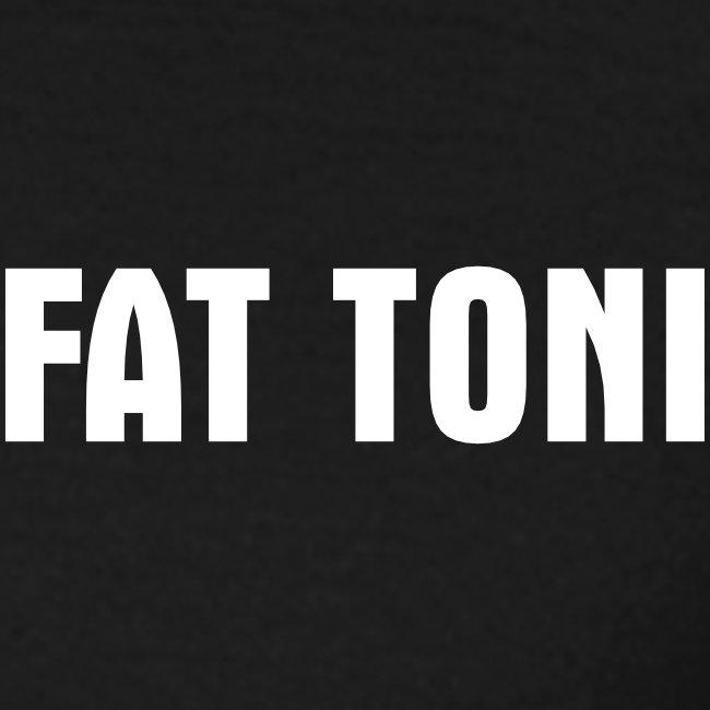 FAT TONI Logo weiss