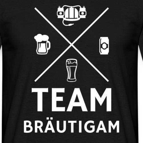 Team Bräutigam Junggesellenabschied - Männer T-Shirt