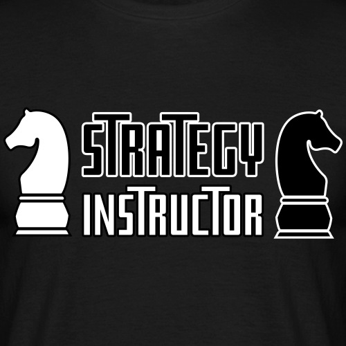 Strategy Instructor - Men's T-Shirt