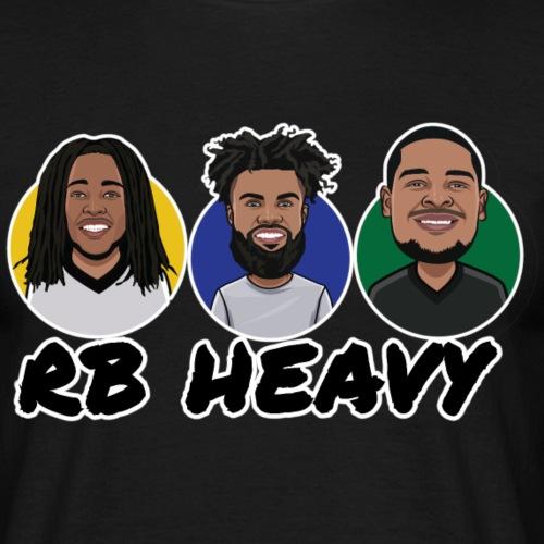 Runningback Heavy - Männer T-Shirt