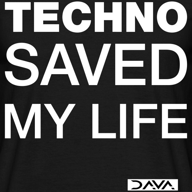 Techno Saves lives - white