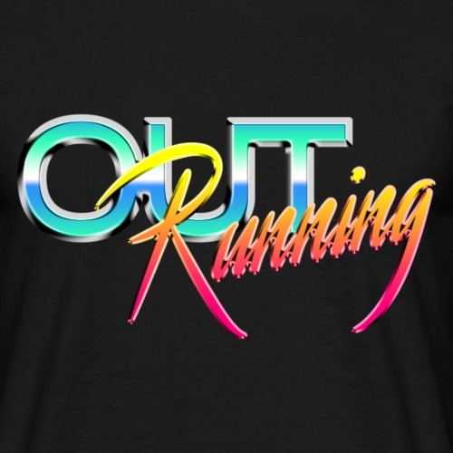 Out Running - Mannen T-shirt