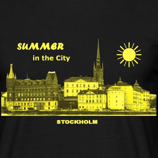 Summer in the City Stockholm Schweden