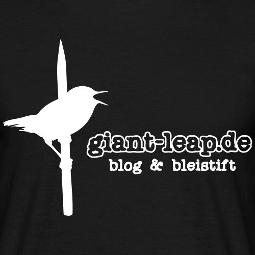 giantleapvogel uni - Männer T-Shirt