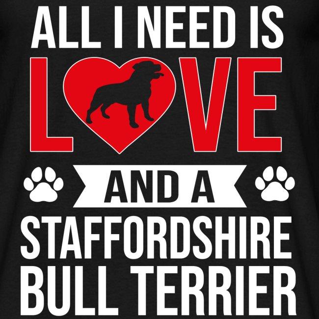 STAFFORDSHIRE BULLTERRIER-LOVE