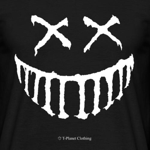 Creepy Smile White - Maglietta da uomo