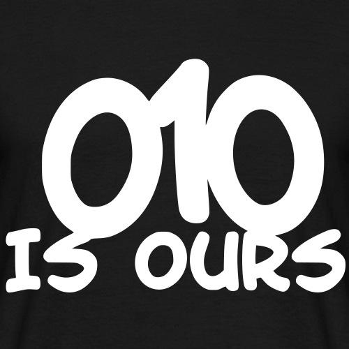 010 IS VAN ONS - Mannen T-shirt