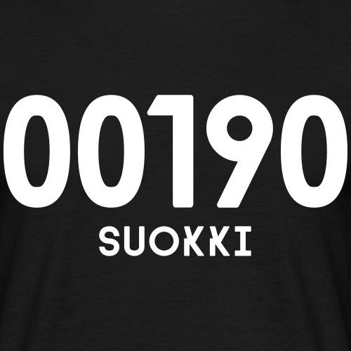 00190 SUOKKI - Miesten t-paita