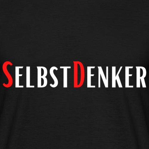 SelbstDenker - Männer T-Shirt