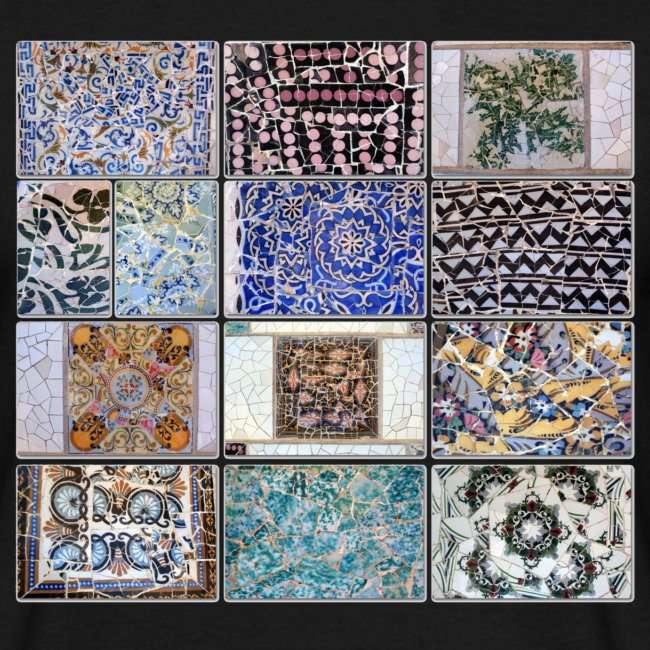 parc guell tiles