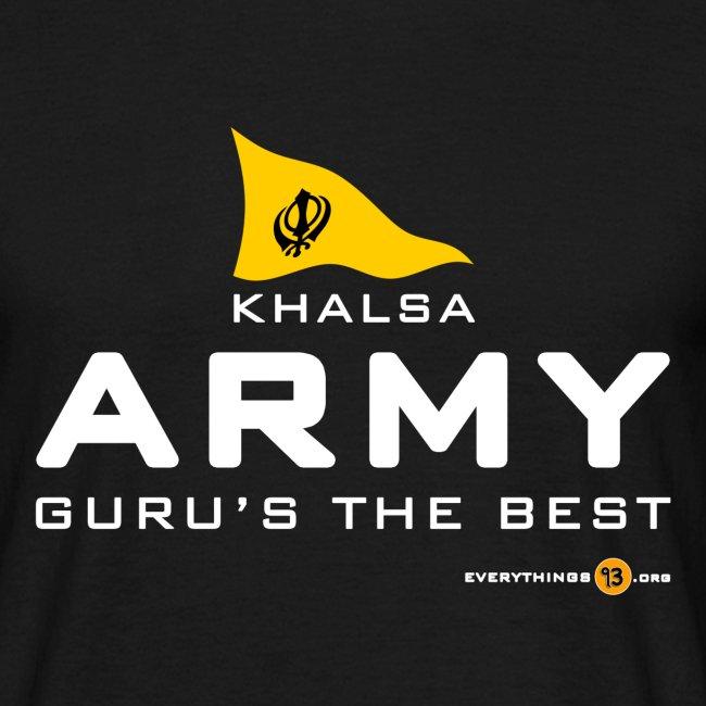 Khalsa ARMY Guru s the BEST white