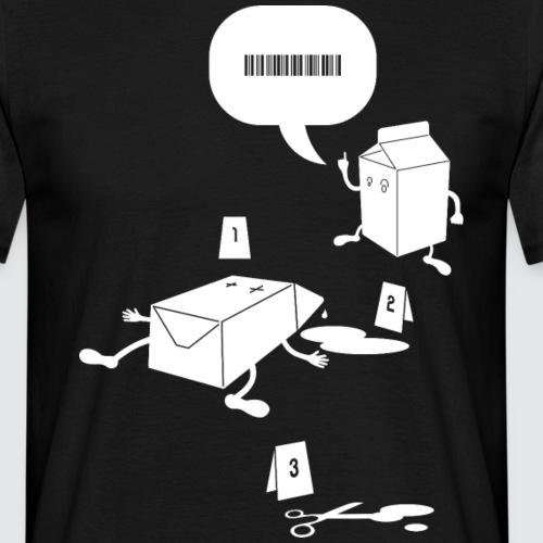 Milk - Maglietta da uomo