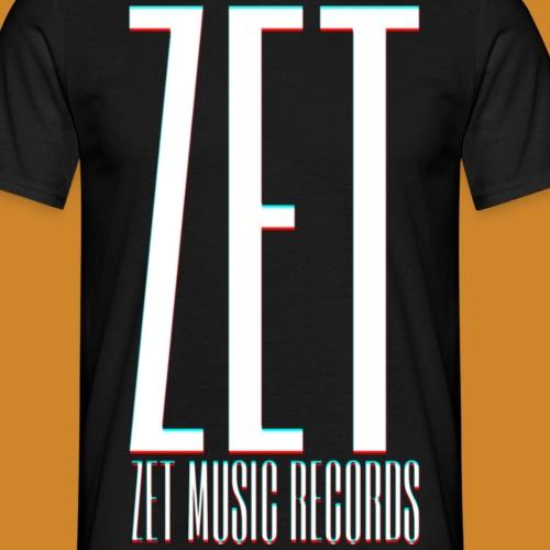 ZET RECORDS FULL PRINT - Männer T-Shirt