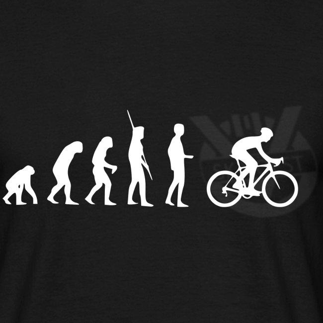 Evolution Radfahren weiss