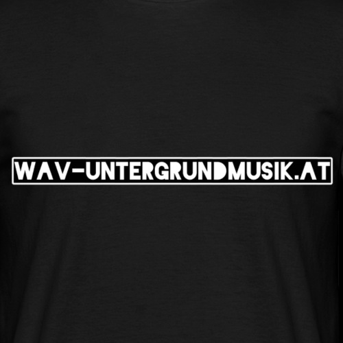 Wav Website - Männer T-Shirt