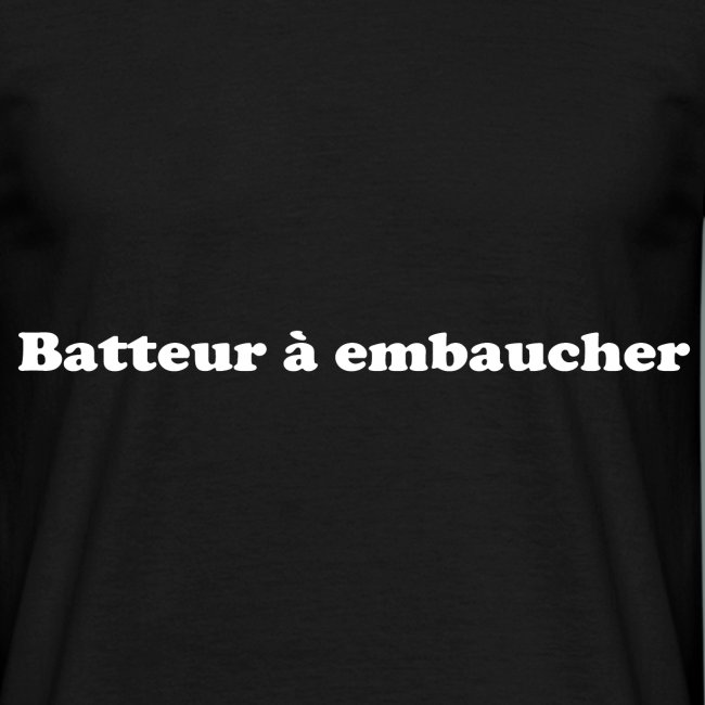 Batteur à embaucher white