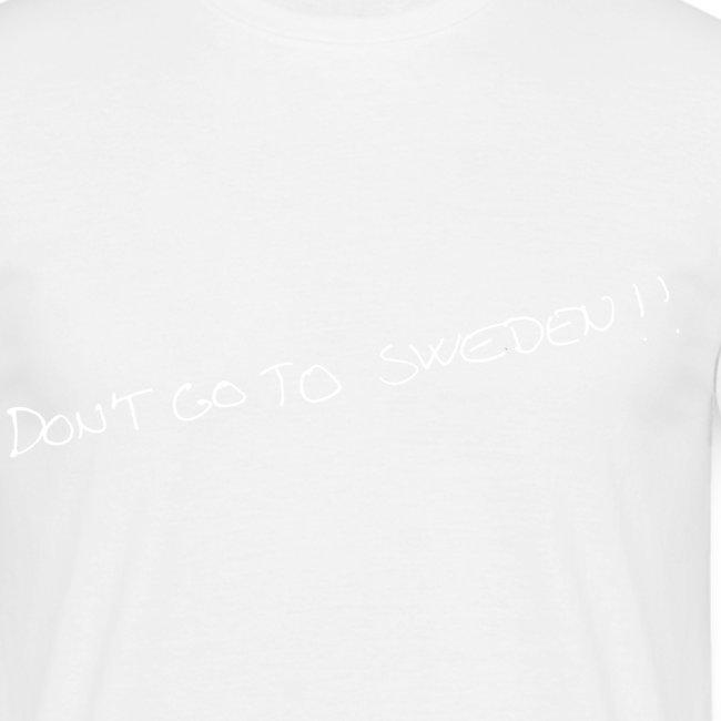 don t go to sweden hvid png