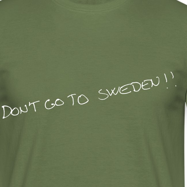 don t go to sweden hvid png