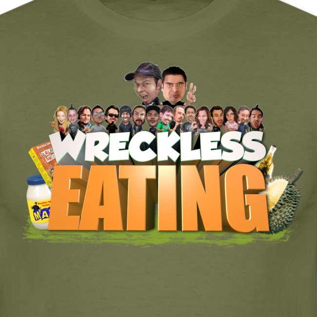 Wreckless Eating Cast Shirt 2015 png
