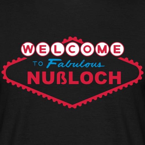 LasNußloch - Männer T-Shirt