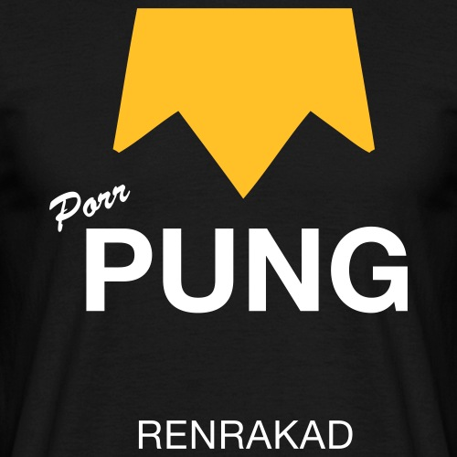 T-shirt, Porr PUNG Renrakad - T-shirt herr