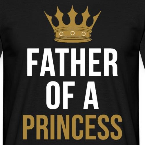 Father of a Princess Vater Sohn partnerlook - Männer T-Shirt