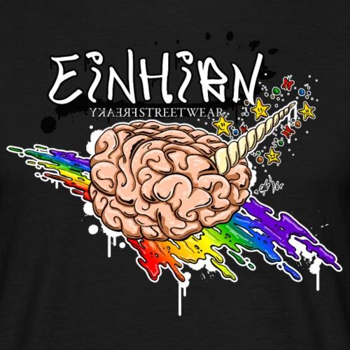 Einhirn - Männer T-Shirt