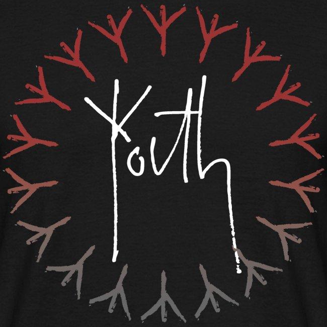 Youth Film Logo Red/Grey