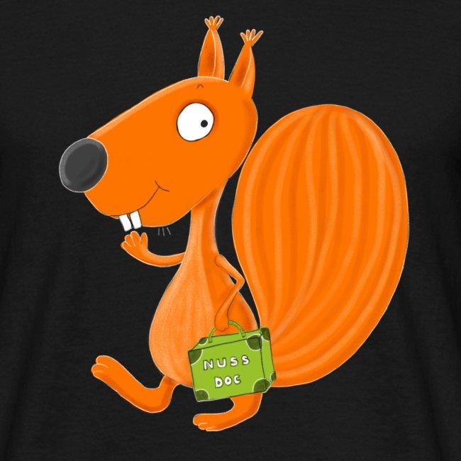 Eichhörnchen Nuss-Doc