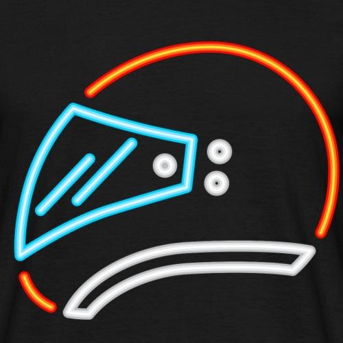 Motorrad Helm - Männer T-Shirt
