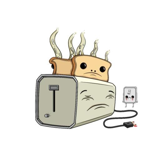 Depressed Toaster - Herre-T-shirt