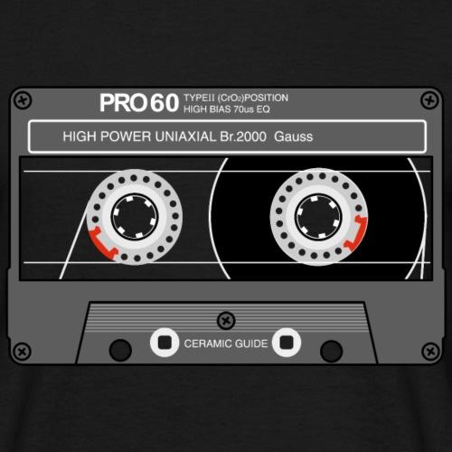 Cassette SONY UX Pro black - Men's T-Shirt