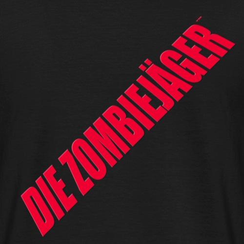 die zombiejager logo - T-shirt herr