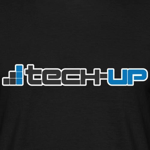 Tech-up Logo - Männer T-Shirt
