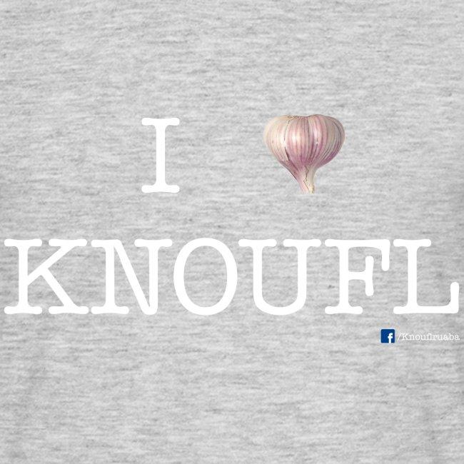 i love knoufl white