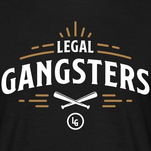 LEGAL GANGSTERS - Club Design - Miesten t-paita