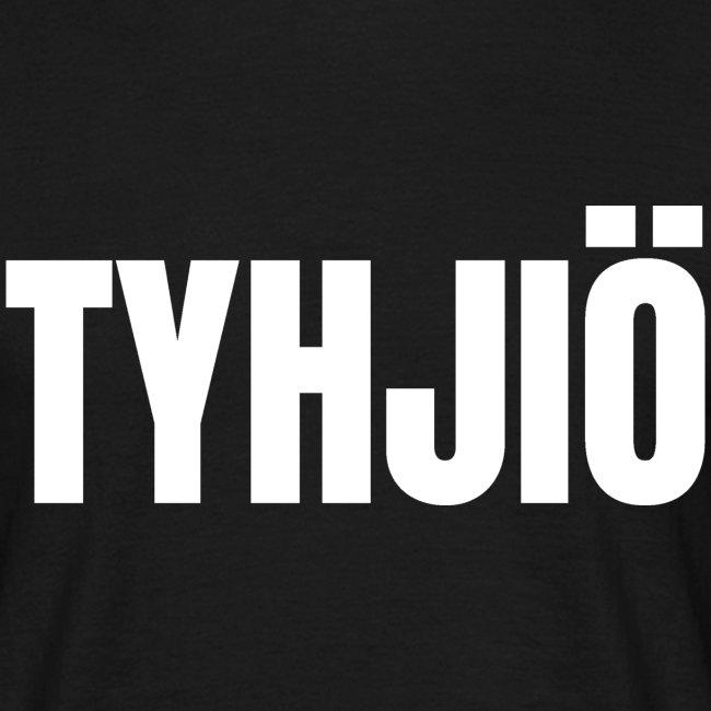 TYHJIÖ Logo White