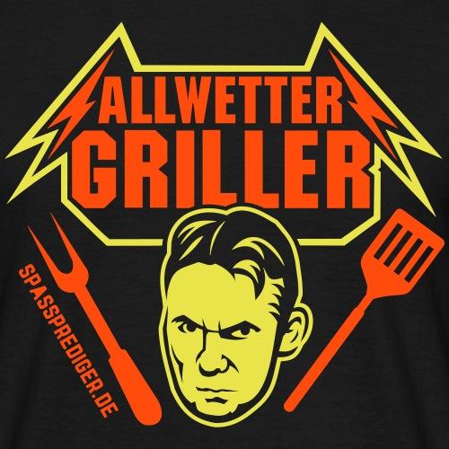 Allwettergriller - Männer T-Shirt