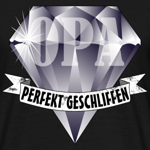 OPA Rentner Diamant Perfekt Geschliffen Geburtstag