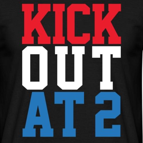 Kick out at 2 - Men's T-Shirt