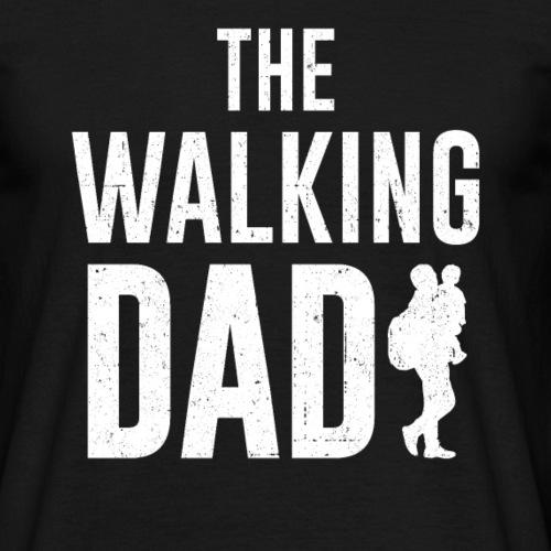 The Walking Dad Vater Papa Vatertag Geschenk - Männer T-Shirt