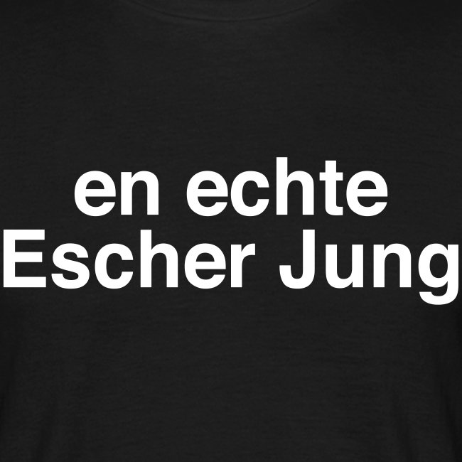 En echte Escher Jung