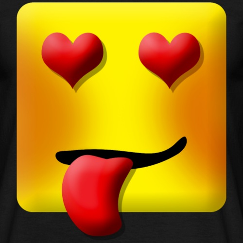 Love Face Square Tongue - Herre-T-shirt