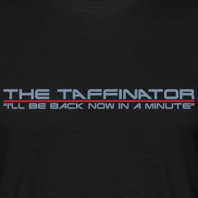 taffinator white red