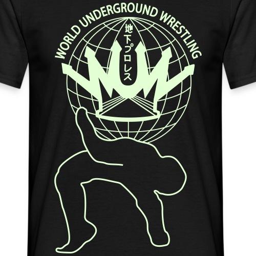 wuw suplex logo - Männer T-Shirt
