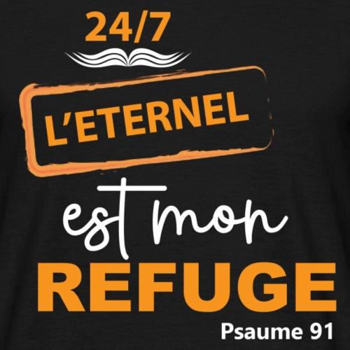 24 7 eternel mon refuge orange blanc
