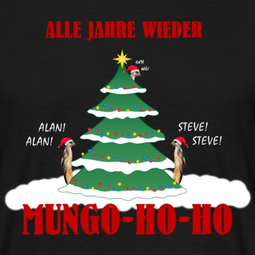 Mungo Steve und Alan Weihnachten Shirt Geschenk - Männer T-Shirt