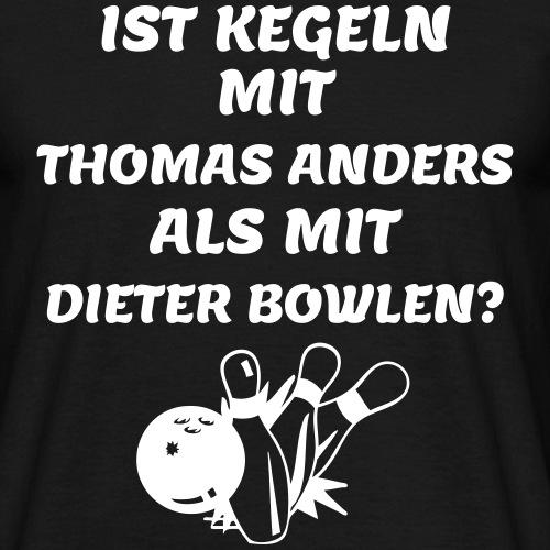 Kegeln1 - Männer T-Shirt
